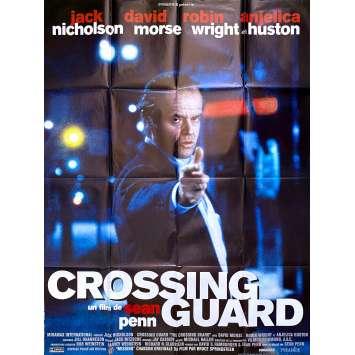 CROSSING GUARD Affiche de film - 120x160 cm. - 1995 - Jack Nicholson, Sean Penn