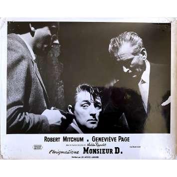 FOREIGN INTRIGUE Original Lobby Card N1 - 10x12 in. - 1956 - Sheldon Reynolds, Robert Mitchum