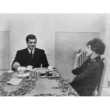 LE RENDEZ-VOUS Photo de presse N2 - 20x25 cm. - 1969 - Omar Sharif, Anouk Aimée, Sidney Lumet
