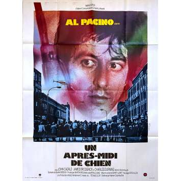 DOG DAY AFTERNOON Original Movie Poster - 47x63 in. - 1975 - Sidney Lumet, Al Pacino