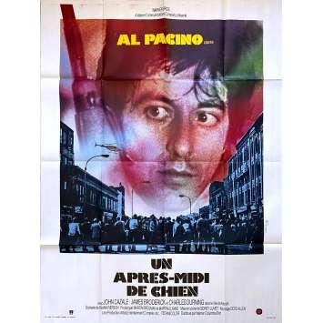 UN APRES MIDI DE CHIEN Affiche de film - 120x160 cm. - 1975 - Al Pacino, Sidney Lumet