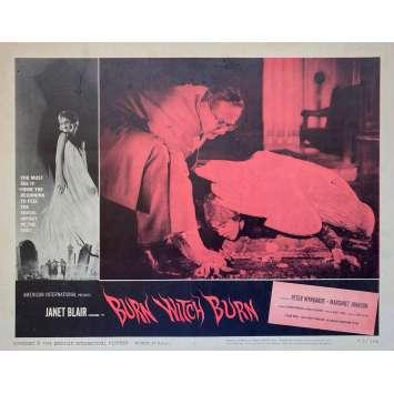 BRULE SORCIERE BRULE Photo de film - 28x36 cm. - 1962 - Peter Wyngarde, Sidney Hayers