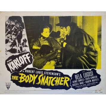 THE BODY SNATCHER Original Lobby Card - 11x14 in. - R1950 - Robert Wise, Boris Karloff, Bela Lugosi