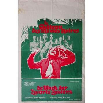 LA VIERGE DES MESSES NOIRES Affiche de film - 35x55 cm. - 1973 - Nadia Henkowa, Joseph W. Sarno