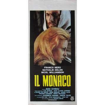 LE MOINE Affiche de film - 33x71 cm. - 1972 - Franco Nero, Adonis Kyrou