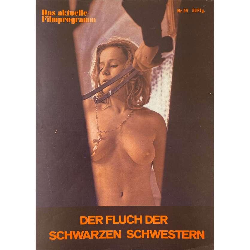 THE DEVIL'S PLAYTHING Original Pressbook 4p - 9x11,5 in. - 1973 - Joseph W. Sarno, Nadia Henkowa