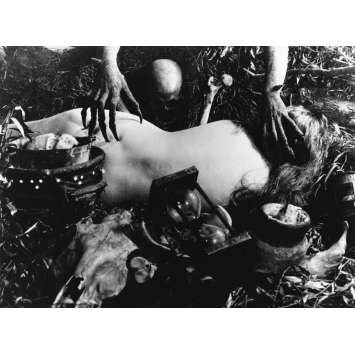 LA SORCELLERIE A TRAVERS LES AGES Photo de presse - 18x24 cm. - R1980 - Elisabeth Christensen, Benjamin Christensen