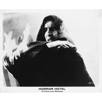 HORROR HOTEL Photo de presse - 20x25 cm. - 1960 - Christopher Lee, John Llewellyn Moxey