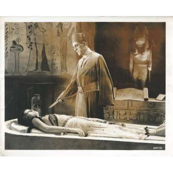 LA MOMIE (1932) Photo de presse - 20x25 cm. - 1932 - Boris Karloff, Karl Freund