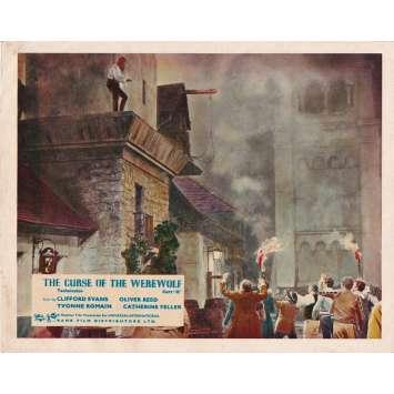 LA NUIT DU LOUP-GAROU Photo de film - 20x25 cm. - 1961 - Oliver Reed, Terence Fisher