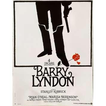 BARRY LYNDON Affiche de film - 40x54 cm. - R1990 - Ryan O'Neil, Stanley Kubrick
