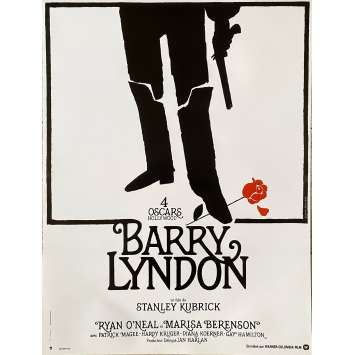 BARRY LYNDON Original Movie Poster - 15x21 in. - R1990 - Stanley Kubrick, Ryan O'Neil