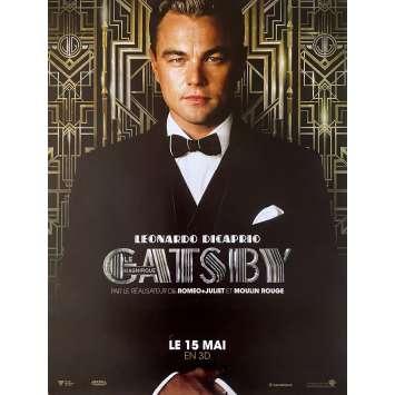 GASTBY LE MAGNIFIQUE (2013) Affiche de film - 40x54 cm. - 2013 - Leonardo DiCaprio, Baz Luhrmann