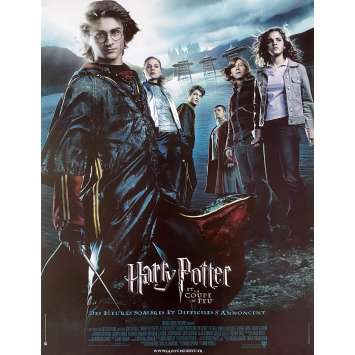 HARRY POTTER AND THE GOBLET OF FIRE Original Movie Poster - 15x21 in. - 2005 - Mike Newell, Daniel Radcliffe
