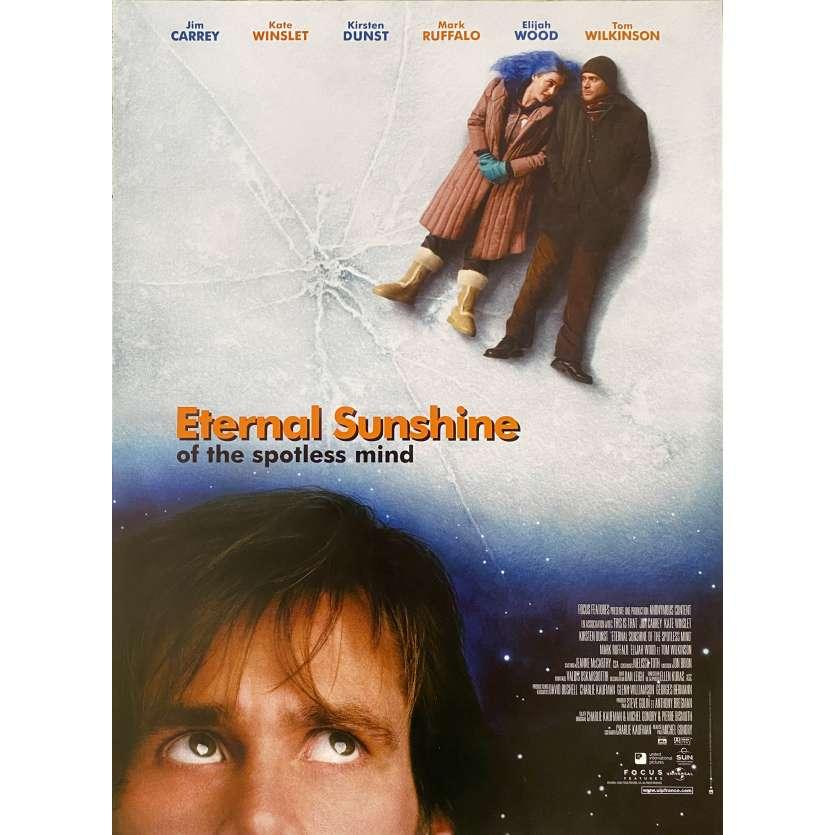 ETERNAL SUNSHINE OF THE SPOTLESS MIND Original Movie Poster - 15x21 in. - 2004 - Michel Gondry, Jim Carrey, Kate Winslet