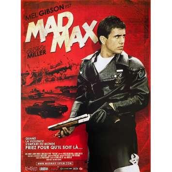 MAD MAX Affiche de film - 40x54 cm. - R2000 - Mel Gibson, George Miller