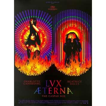 LUX AETERNA Original Movie Poster - 15x21 in. - 2019 - Gaspar Noe, Charlotte Gainsbourg, Béatrice Dalle