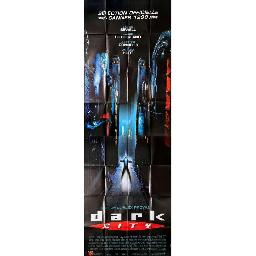 DARK CITY Original Movie Poster - 59x138 in. - 1998 - Alex Proyas, Jennifer Connely
