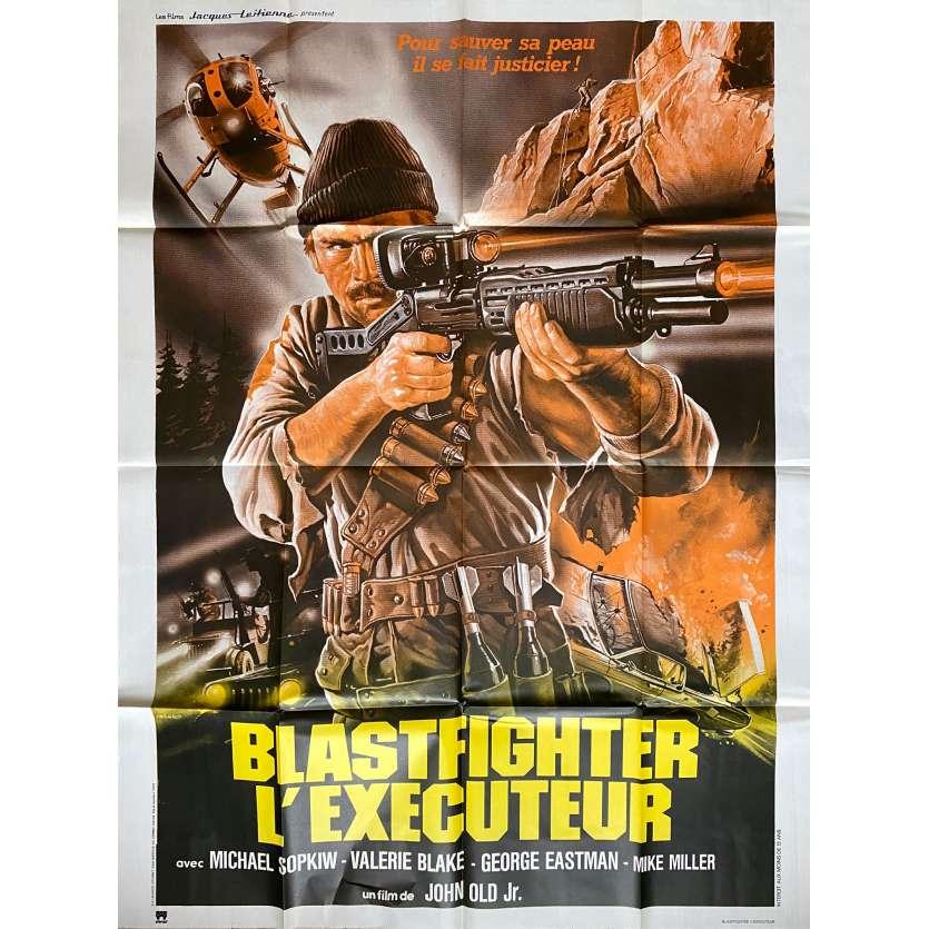 BLASTFIGHTER Original Movie Poster - 47x63 in. - 1984 - Lamberto Bava, Michael Sopkiw
