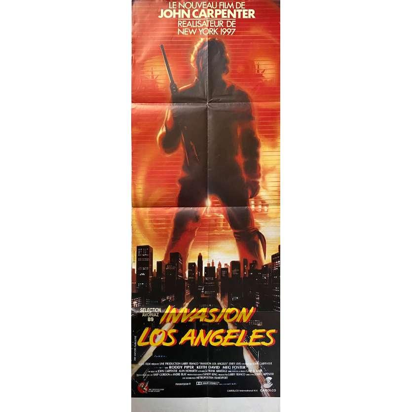INVASION LOS ANGELES Affiche de film - 60x160 cm. - 1988 - Roddy Piper, John Carpenter