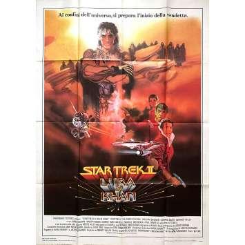STAR TREK 2 LA COLERE DE KHAN Affiche de film - 100x140 cm. - 1982 - Leonard Nimoy, Nicholas Meyer
