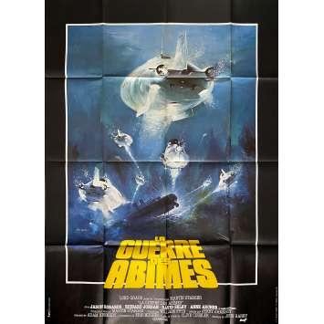 LA GUERRE DES ABIMES Affiche de film - 120x160 cm. - 1980 - Jason Robards, Jerry Jameson