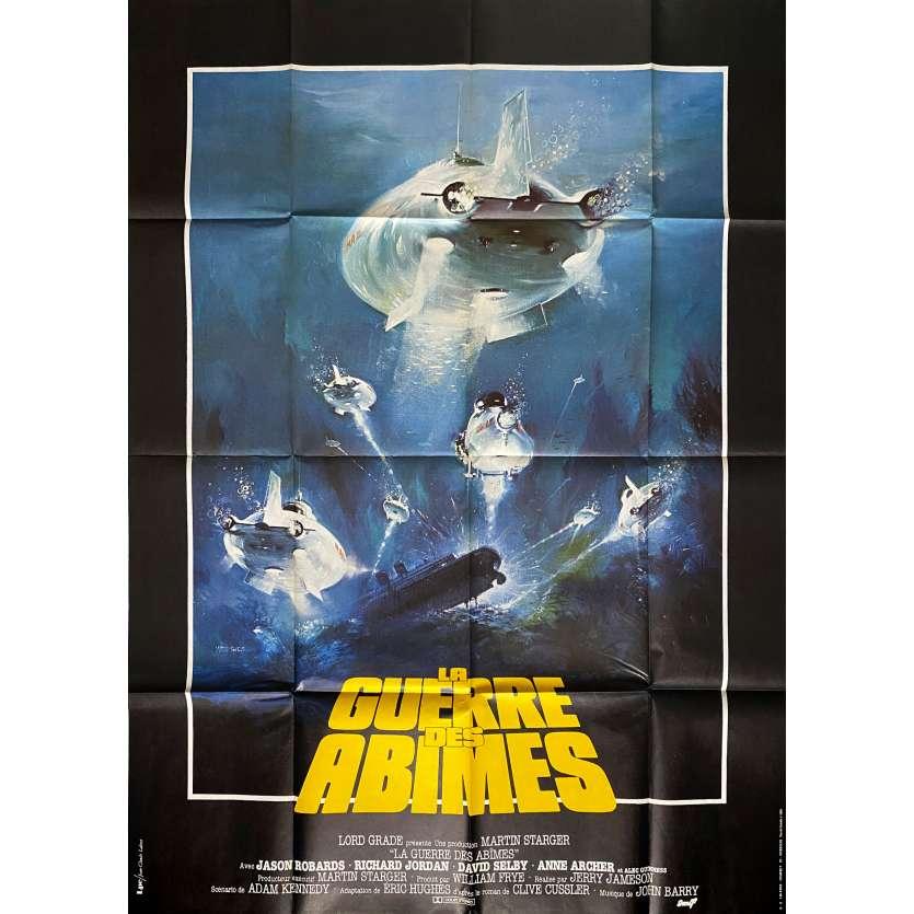 RAISE THE TITANIC Original Movie Poster - 47x63 in. - 1980 - Jerry Jameson, Jason Robards