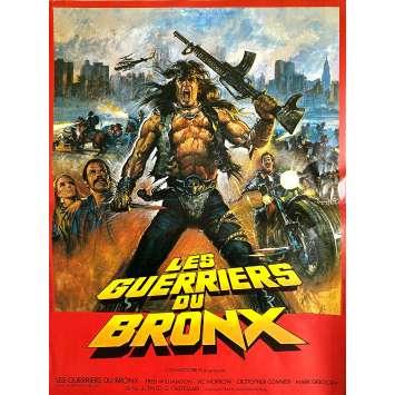 LES GUERRIERS DU BRONX Affiche de film - 40x54 cm. - 1982 - Fred Williamson, Enzo G. Castellari