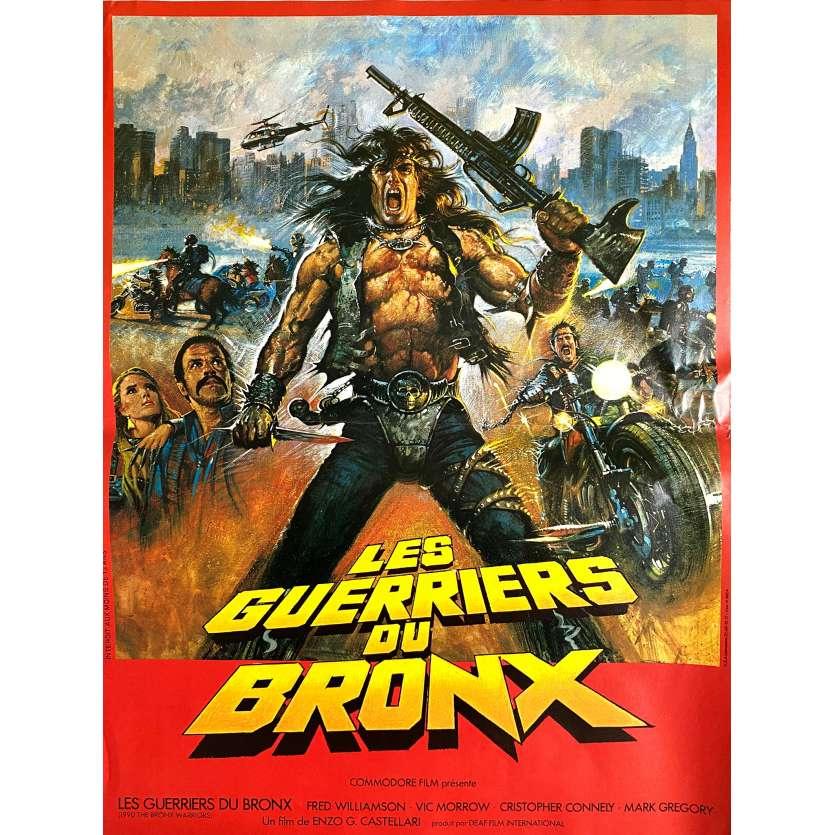 1990: THE BRONX WARRIORS Original Movie Poster - 15x21 in. - 1982 - Enzo G. Castellari, Fred Williamson