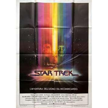 STAR TREK Affiche de film - 100x140 cm. - 1979 - William Shatner, Robert Wise
