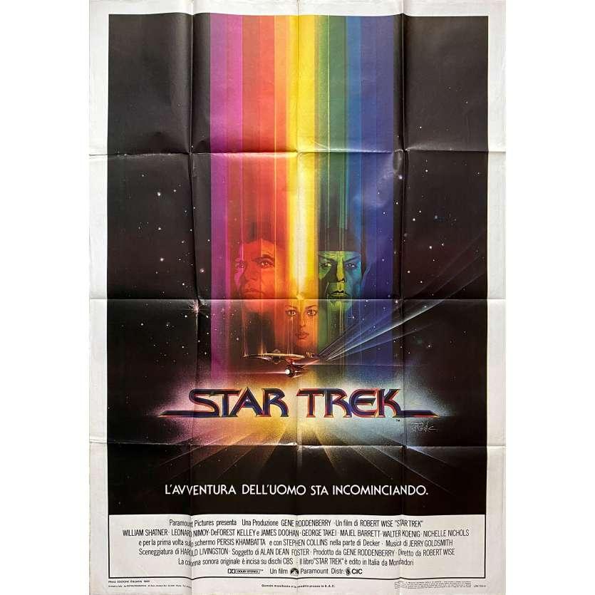 STAR TREK Original Movie Poster - 39x55 in. - 1979 - Robert Wise, William Shatner