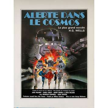 ALERTE DANS LE COSMOS Synopsis - 24x30 cm. - 1979 - Jack Palance, George McCowan