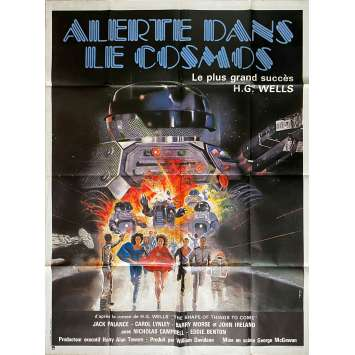 THE SHAPE OF THINGS TO COME Original Movie Poster - 47x63 in. - 1979 - George McCowan, Jack Palance
