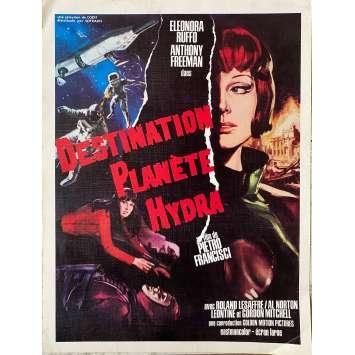 DESTINATION PLANETE HYDRA Synopsis - 24x30 cm. - 1966 - Leonora Ruffo, Pietro Francisci