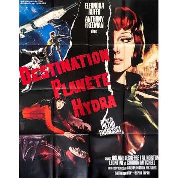 DESTINATION PLANETE HYDRA Affiche de film - 120x160 cm. - 1966 - Leonora Ruffo, Pietro Francisci