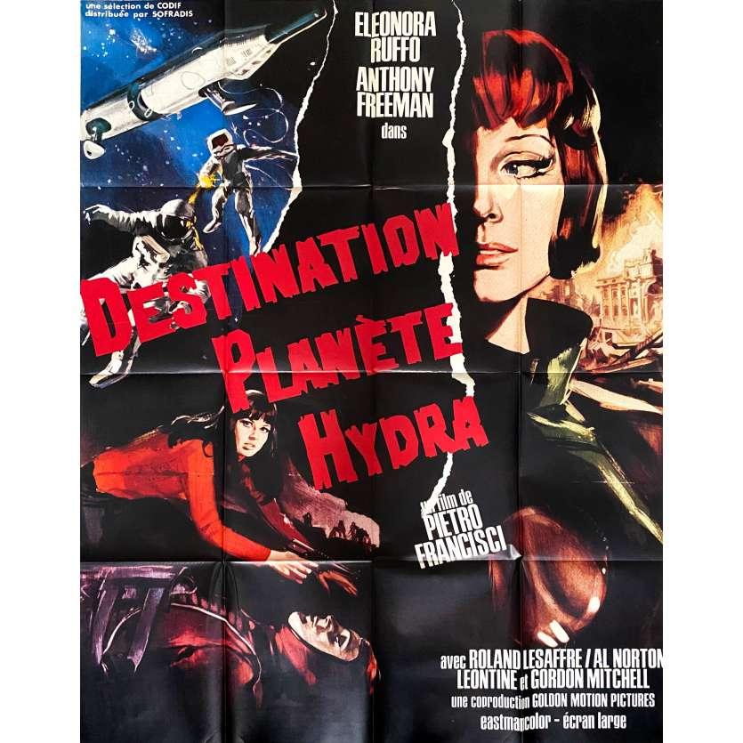 STAR PILOT Original Movie Poster - 47x63 in. - 1966 - Pietro Francisci, Leonora Ruffo