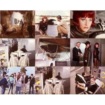 DESTINATION PLANETE HYDRA Photos de film x9 - 24x30 cm. - 1966 - Leonora Ruffo, Pietro Francisci