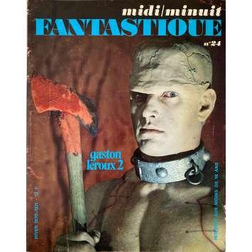 MIDI MINUIT FANTASTIQUE N24 Original Magazine - 9x12 in. - 1970 - Gaston Leroux, Frankenstein