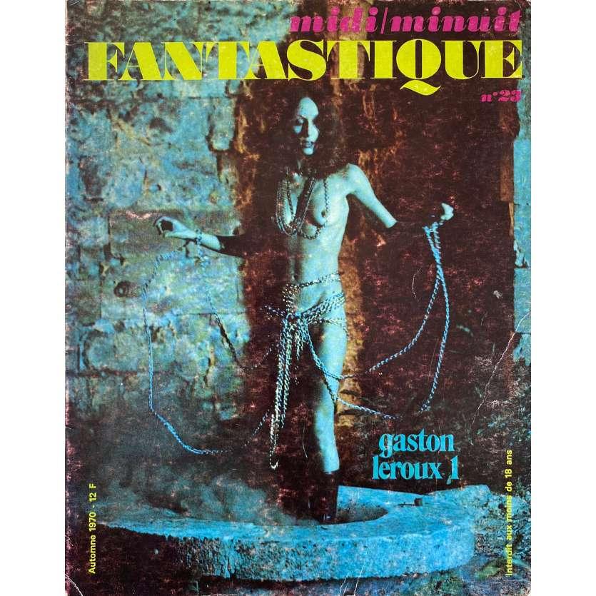 MIDI MINUIT FANTASTIQUE N23 Magazine - 21x30 cm. - 1970 - Bela Lugosi, Gaston Leroux