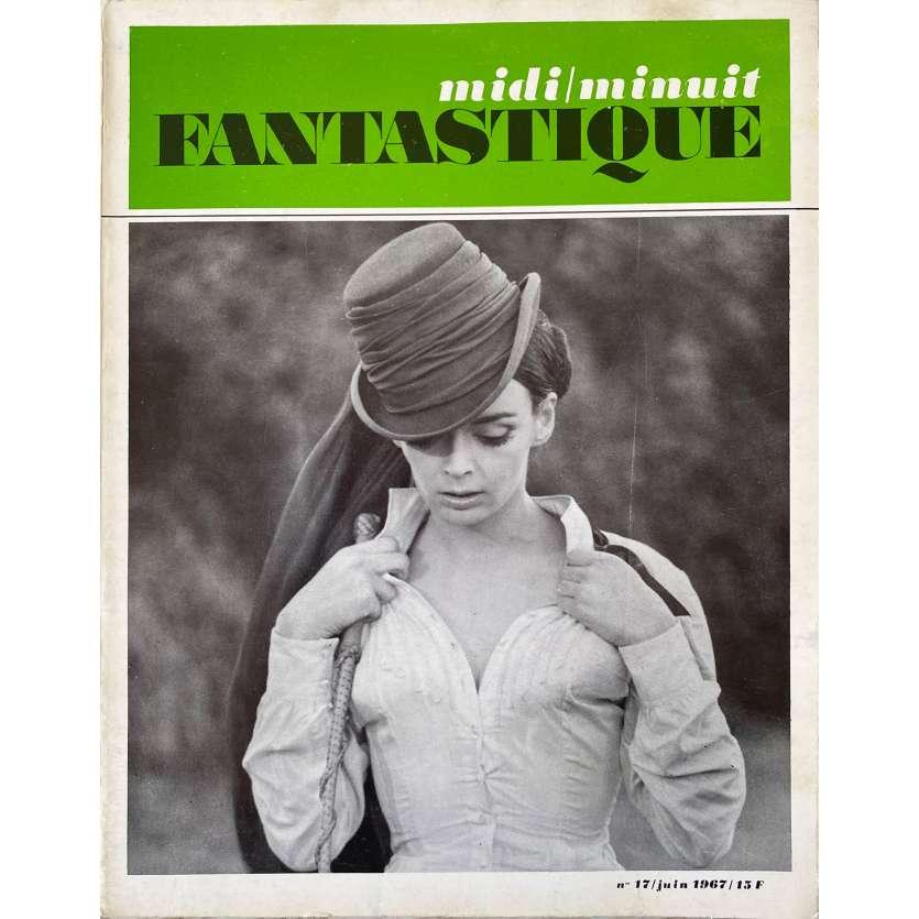 MIDI MINUIT FANTASTIQUE N17 Original Magazine - 9x12 in. - 1969 - Jean-Pierre Mocky, Barbara Steele