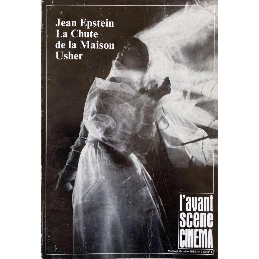 L'AVANT-SCENE N313/314 Original Magazine - 9x12 in. - 1983 - Jean Epstein, Usher