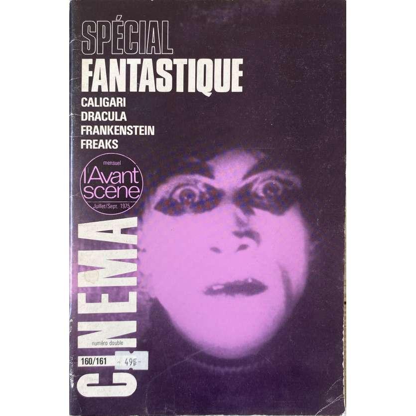 L'AVANT-SCENE N160/161 Magazine - 21x30 cm. - 1975 - Dracula, Frankenstein, Caligari