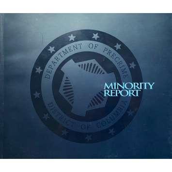 MINORITY REPORT Dossier de presse - 13x18 cm. - 2002 - Tom Cruise, Steven Spielberg