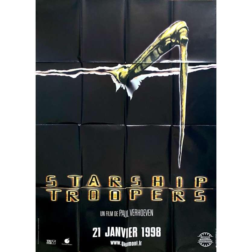 STARSHIP TROOPERS Original Movie Poster - 47x70 in. - 1997 - Paul Verhoeven, Denise Richard