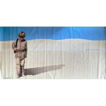 STAR WARS - LA MENACE FANTOME Bannière Vinyle - 236x120 cm. - 1999 - Ewan McGregor, George Lucas