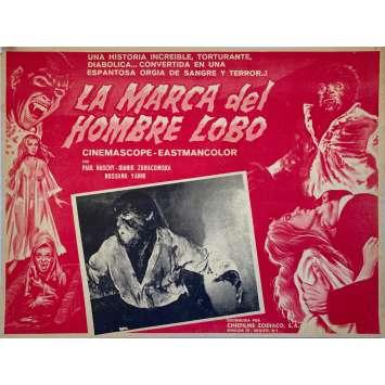 LE VAMPIRE DU DR. DRACULA Photo de film - 32x42 cm. - 1968 - Paul Naschy, Enrique López Eguiluz