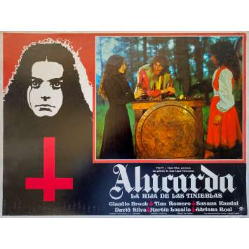 ALUCARDA Original Lobby Card - 11x14 in. - 1977 - Juan López Moctezuma, Claudio Brook