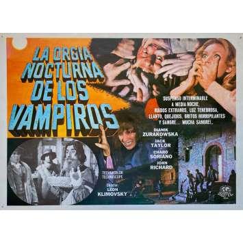LA ORGIA NOCTURNA DE LOS VAMPIROS Photo de film - 32x42 cm. - 1973 - Jack Taylor, León Klimovsky