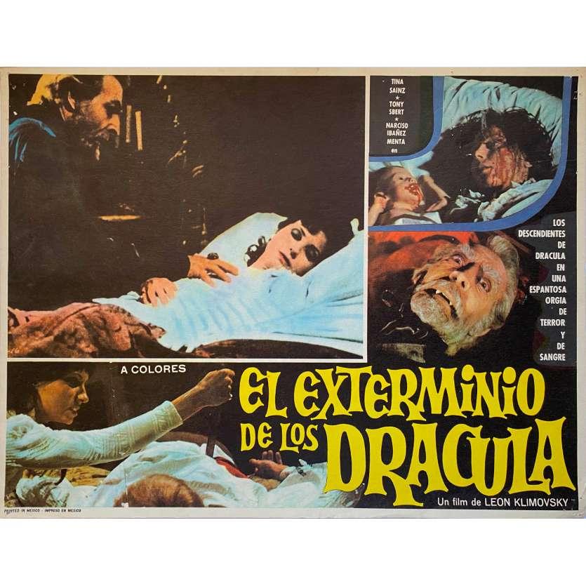 LE GRAND AMOUR DU COMTE DRACULA Photo de film N1 - 32x42 cm. - 1973 - Paul Naschy, Javier Aguirre