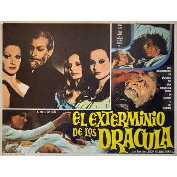 COUNT DRACULA'S GREAT LOVE Original Lobby Card N2 - 11x14 in. - 1973 - Javier Aguirre, Paul Naschy